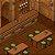 Mapa de RPG Isométrico - Taverna ou Biblioteca - Imagem 1