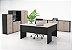 Armário estante para escritório com  duas portas e nicho aberto 15mm! - Imagem 2