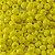Miçanga Amarela Porcelana 50g - Imagem 1