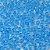 Miçanga Azul Cristal 50g - Imagem 1