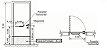 Chapa De Proteção Para Porta inox 304 PNE 82 Cm - 1010 - Imagem 4