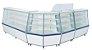 Balcão Seco Expositor de Produtos com Vidro Frontal 120cm - Artlux - Imagem 2