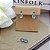 Conjunto Colar e Brinco duas Gotas Cristal Azul e Lilás banho ouro 18k - Imagem 1
