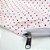 Capa para Colchão 190 x 90 x 30 cm Solteiro Com Zíper Bolinhas Branco e Vermelho Bellestar - Imagem 2