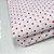 Capa para Colchão 190 x 90 x 30 cm Solteiro Com Zíper Bolinhas Branco e Vermelho Bellestar - Imagem 3