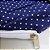 Capa para Colchão 190 x 90 x 30 cm Solteiro Com Zíper Bolinhas Azul e Branco Bellestar - Imagem 2