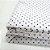 Capa para Colchão 190 x 90 x 30 cm Solteiro Com Zíper Bolinhas Branco e Azul Bellestar - Imagem 3