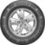 Pneu Continental Aro 15 195/70r15c 104/102r VanContact Ap 8pr - 04513450000 - Imagem 2