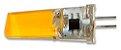 Lâmpada Led Halopin G4 3W COB 220V 3000K Branco Quente - Imagem 2