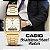 Relógio unissex casio aq230ga-9d dourado - Imagem 2