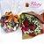 Buquê 6 rosas e coração de trufas Cacau Show - Imagem 1