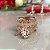 Anel Santa Cruz Coração Patuá Branco Folheado Ouro Rosé 18k - Imagem 4