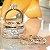 Anel Coroa Triplo com Microzircônias Folheado Ródio e Ouro 18k - Imagem 6