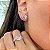 Anel Turmalina Rosa Fusion Duplo Cravejados em Prata925 - Imagem 2