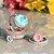 Anel Oval Turmalina Light Fusion e Corações Cristal Prasiolita em Prata925 - Imagem 5
