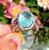 Anel Oval Turmalina Light Fusion e Corações Cristal Prasiolita em Prata925 - Imagem 4