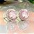 Brinco Turmalina Rosa Fusion Cravejado em Prata925 - Imagem 5