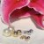 Brinco Ear Jacket Pérola & Bolas Triplo Folheado Ouro & Ródio - Imagem 9