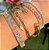 Bracelete Mosaico Nano Colors Folheado Ouro Amarelo 18k - Imagem 4