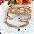 Bracelete Mosaico Nano Colors Folheado Ouro Amarelo 18k - Imagem 5