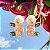 Brinco Ear Jacket Morganita Fusion & Peridoto Fecho Pérola Folheado Ouro Amarelo 18k - Imagem 4