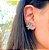 Brinco Ear Cuff 7 Gotas Colors Folheado Ouro Rosé 18k - Imagem 2