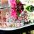 Brinco Ear Cuff 7 Gotas Colors Folheado Ouro Rosé 18k - Imagem 3