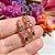 Brinco Ear Hook Palito Rainbow Folheado Ouro Amarelo 18k - Imagem 3