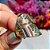 Anel Medalhão Nano Rainbow Folheado Ouro Amarelo 18k - Imagem 3