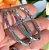 Brinco Argola Oval Nano Rainbow Folheado Ródio - Imagem 3