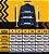 Camisa Social Polo Micro Xadrez Preta - Custom Fit - Imagem 4
