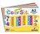 Papel Criativo A3 120g com 8 cores pacote com 24 folhas - Imagem 1