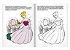Contos de fadas para colorir: Cinderela - Imagem 3