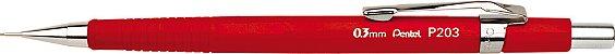 Lapiseira Pentel 0.3 Sharp P203 Vermelha - Imagem 1