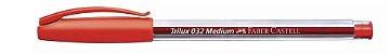 Caneta Esferografica Trilux Ponta Média 1.0 Office - Imagem 4