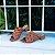Sandália Fargo Salto Baixo com Tiras Entrelaçadas - Imagem 1