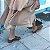 Sandália Fargo Salto Baixo com Tiras Entrelaçadas - Imagem 2