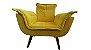 Poltrona Decorativa Topalla 01 lg Cor: Amarelo - Imagem 4