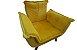 Poltrona Decorativa Topalla 01 lg Cor: Amarelo - Imagem 3