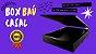 Base Box Bau - 138 cm X 188 cm Casal Courino Preto - Imagem 2