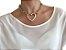Corrente Dourada com Pingente de Maxi Coração - Imagem 1