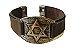 Bracelete de Couro Estrela de Davi - Imagem 4