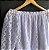Conjunto Saia e Cropped Renda e Tule Branco - Imagem 3