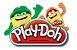 Conjunto de Slimes - Play-Doh - Ciano e Laranja - 90 gramas - Hasbro E8788 - Imagem 4