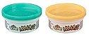 Conjunto de Slimes - Play-Doh - Ciano e Laranja - 90 gramas - Hasbro E8788 - Imagem 2