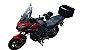 Baú Central Top Case 50 Litros Livi Exclusivo Para Moto Versys 1000 2016 em diante + Suporte - Imagem 7