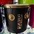 Repique De Mão Gope Preto e Dourado 11Pol x 30cm Lal3011rmpd - Imagem 1