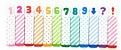 Stick Marker Números/Doces - Imagem 3