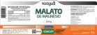 Kit 4 Malato De Magnesio 60 Cápsulas KATIGUA - Imagem 3