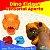 Dino Fidget Sensorial Aperta - Imagem 1